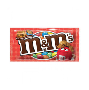 M&M Peanut Butter Chocolate Candy - American M and Ms and chocolate M&M's 40g