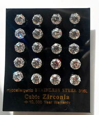 Cubic Zirconia Butterfly Alloy Round Costume Earrings