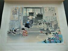 Japanese Woodblock Print Sanzo Wada(1883-1967) Dated 1951
