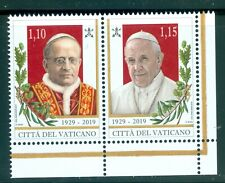 2019 Vatican City: Sc# 1709 Foundation of the Vatican City State MNH
