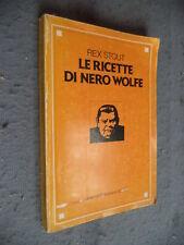 REX STOUT - LE RICETTE DI NERO WOLFE -OMNIBUS MONDADORI - 1975 - G4