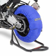 Motorrad Reifenwärmer ConStands Superbike 60-80 °C Set Blau