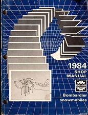 1984 SKI-DOO & MOTO-SKI SNOWMOBILE BOMBARDIER SHOP MANUAL p/n 484 0492 00 (163)
