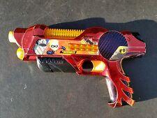 extremely rare Disney Pixar Dash Incredibles blaster ray sound gun 2005 awesome!