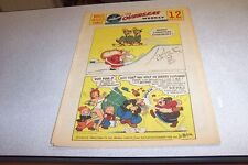 COMICS THE OVERSEAS WEEKLY 25 DECEMBER 1960 BEETLE BAILEY THE KATZENJAMMER KIDS