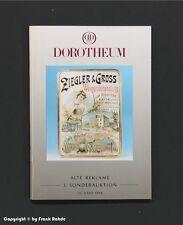 Katalog ALTE REKLAME 3.Sonderauktion Dorotheum 1994