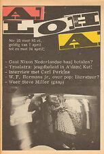 MAGAZINE ALOHA 1972 nr. 25  - WALTER STEEVENSZ /CAPTAIN BEEFHEART / CARL PERKINS