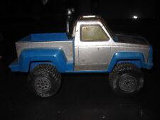 Vintage 1974 Tonka monster truck blue silver metal plastic
