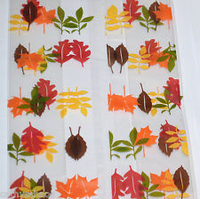 "50 Cello Bags 5x11"" Fall Halloween Thanksgiving Leaves Cellophane Candy Gifts"