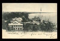 British Cwlth Africa Southern Nigeria LAGOS Ships Quay 1908 u/b PPC