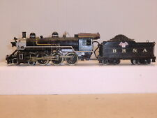 Unidentified - Brass HO - BR&A 4-6-0 Steam Locomotive (Private RR)