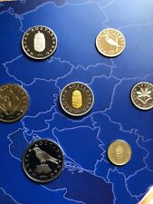 More details for hungary 🇭🇺 coins set 2004 proof 8x forint coins new folder 🇪🇺 accession eu