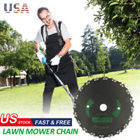 """Chain Saw Tooth Brush-Cutter Grass Blade Heavy Duty 9"""" for Gas/Electric Trimmer#"""
