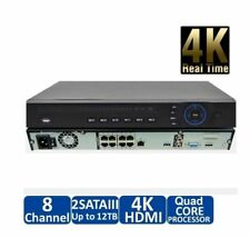 DAHUA NVR4208-8P-4KS2 1080P 8 CHANNEL NVR WITH 8 PORT POE (NVR), ONVIF, P2P, PoE