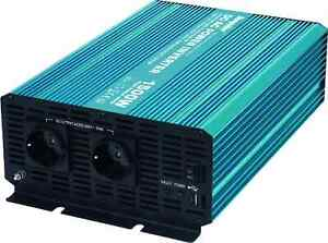 Sunpulse Spannungswandler P1500 1500W / 3000W 24V 230V Inverter Wechselrichter