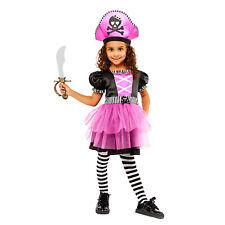 Childs Dazzlng Shipmate Fancy Dress Pirate Costume Caribbean Buccaneer Book