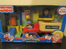 NEW Fisher Price Little People Walmart Semi Truck Big Rig Vehicle Store Ship Set