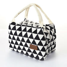 Women Portable Lunch Bag Insulated Thermal Cooler Box Carry Tote Travel Bag ^-^