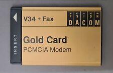 More details for psion dacom v34 + fax pcmcia modem gold card - vintage