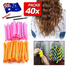 Magic Hair Curler No Heat 40PCS Leverage Curlers Formers Spiral Styling Rollers