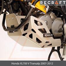 Honda XL700 V Transalp 07-12 Engine Guard Skid Plate with Sliders