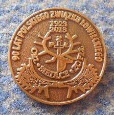 POLAND city SIEDLCE UNION HUNTING 90 ANNIVERSARY /1923-2013/ PIN
