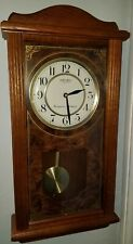 Seiko Quartz Pendulum Wall Clock Westminster / Whittington Chimes Battery works