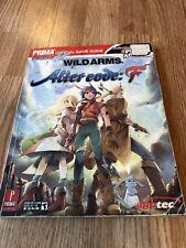 Wild Arms Alter Code F Prima Guide - Guide Only BK1