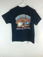 Denver Broncos NFL Football Super Bowl XXXIII T Shirt Size YOUTH MEDIUM 10 / 12