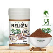 Nelken Kapseln - 100% Vegan - 100 Stk. 480mg inkl. Versand