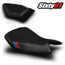 BMW S1000RR Seat Covers 2015 2016 2017 2018 Black Suede Blue Red Luimoto