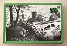 COUNTRY SCENE by WILLIAM GELDART - 1979 ARROW PUZZLES VINTAGE 750 PIECE JIGSAW.