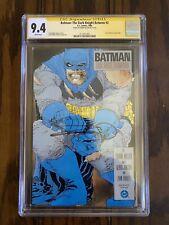 BATMAN: THE DARK KNIGHT RETURNS #2 CGC 9.4 SS Signed Frank Miller 1st Print