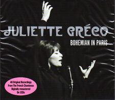 JULIETTE GRECO - BOHEMIAN IN PARIS  (NEW SEALED 2CD)