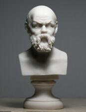 SOCRATES Greek Philosopher Teacher Handmade Bust Head Statue Sculpture 5.9΄΄