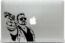 Apple MacBook Air Pro + THE BIG LEBOWSKI + Aufkleber Sticker Skin Decal + Walter
