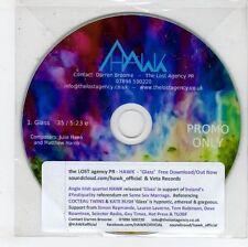 (GN329) Hawk, Glass - DJ CD