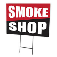 SMOKE SHOP FULL COLOR DOUBLE SIDED SIGN