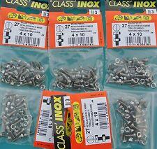 CLASS'INOX,,PRO,105 Boulons TF, 4 x 20 mm + Ecrous,,INOX A4 Marine,Tête Fraisée