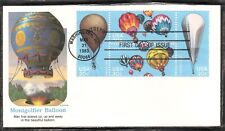 US SC # 2035a Balloons FDC .Washington cancel . Fleetwood Cachet