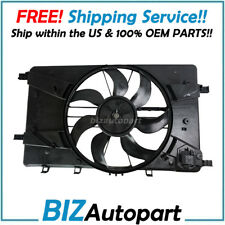 GENUINE OEM BOSCH RADIATOR CONDENSER FAN FOR VERANO CRUZE 1.4 1.8 2.4L 13360890