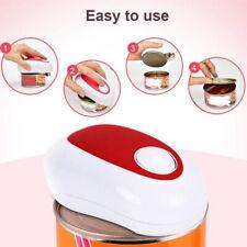 Pratico apriscatole elettrico One Touch automatico senza taglienti alimentato a