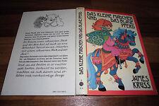 JAMES KRÜSS -- das KLEINE MÄDCHEN und das BLAUE PFERD // Boje 1. Auflage 1977
