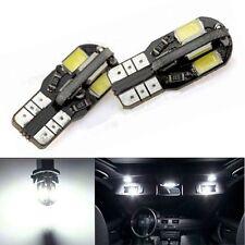 """10 pack T10 5730 8-SMD Error Free""""Canbus"""" LED bulb - White - us seller"""