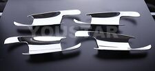 MERCEDES BENZ C CLASS 4 DOOR W203 NEW CHROME INNER DOOR SCOUP TRIMS 2000 - 2007