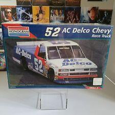 Monogram #2473 #52 AC Delco Chevy Race Truck 1/24 Scale Model Kit