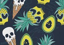 A1| Horror Pineapple Skulls Poster Size 60 x 90cm Halloween Poster Gift #16020