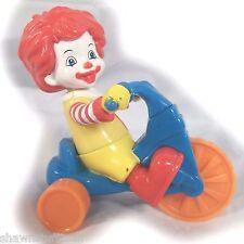 Baby Ronald McDonald Riding Bike kids Happy Meal Toy Big Wheel Trike (see video)