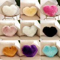 Heart Shaped Throw Pillow Cushion Plush Pillows Gift Home Sofa Decoration 2019