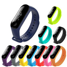 Silicone Watch Bracelet Band Strap Replacement For Xiaomi MI Band 4 3 Tracker